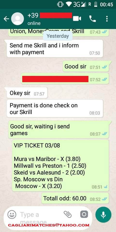 fixed ticket