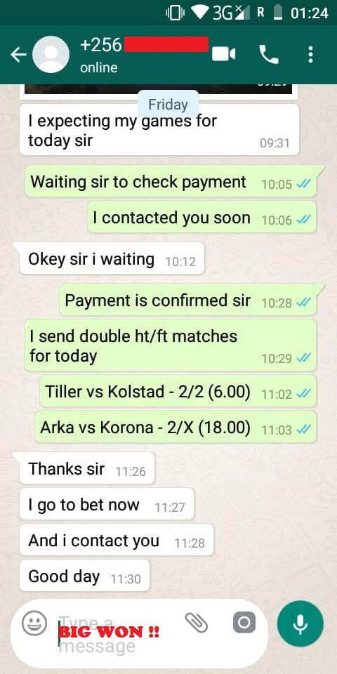 proof vip ticket fixed matches